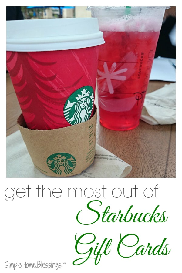 stretch your Starbucks gift cards with these tips - check out how many rewards she got!