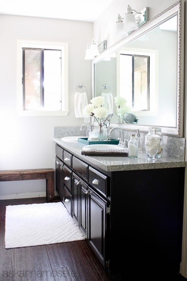 Guest bathroom makeover - Ask Anna