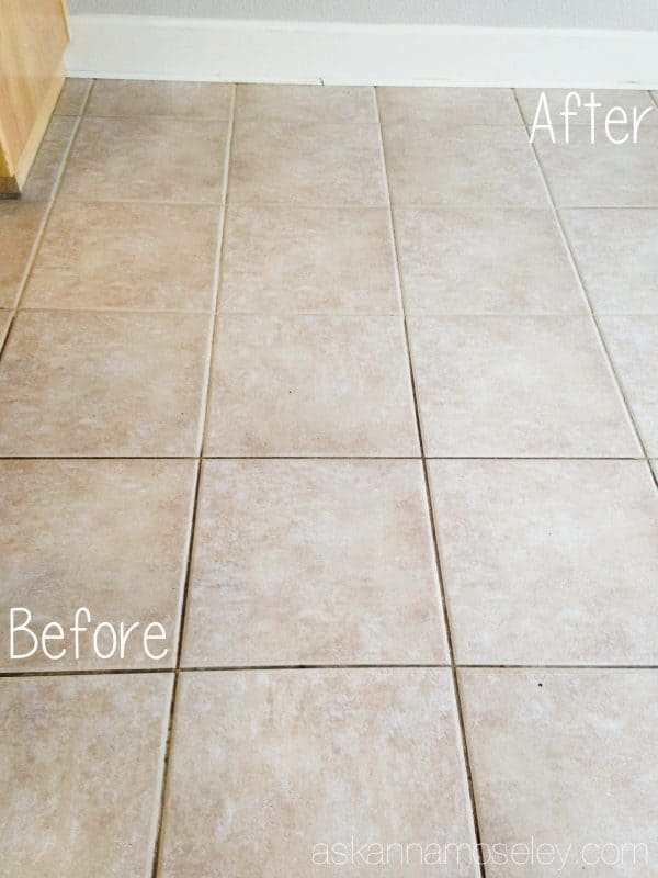 How to clean tile grout without chemicals - Ask Anna