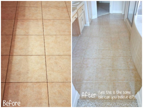 How to clean grout without chemicals - Ask Anna