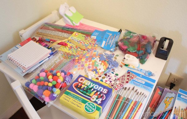 How to organize kid's art supplies - Ask Anna