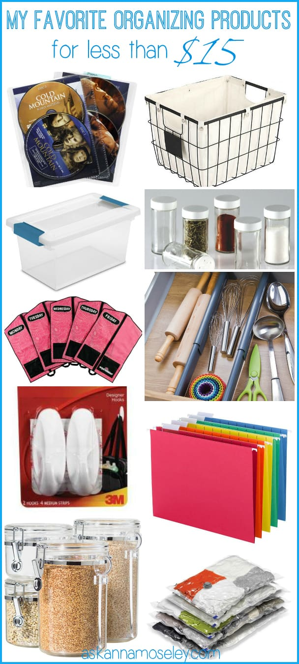 My favorite organizing products under $15 - Ask Anna