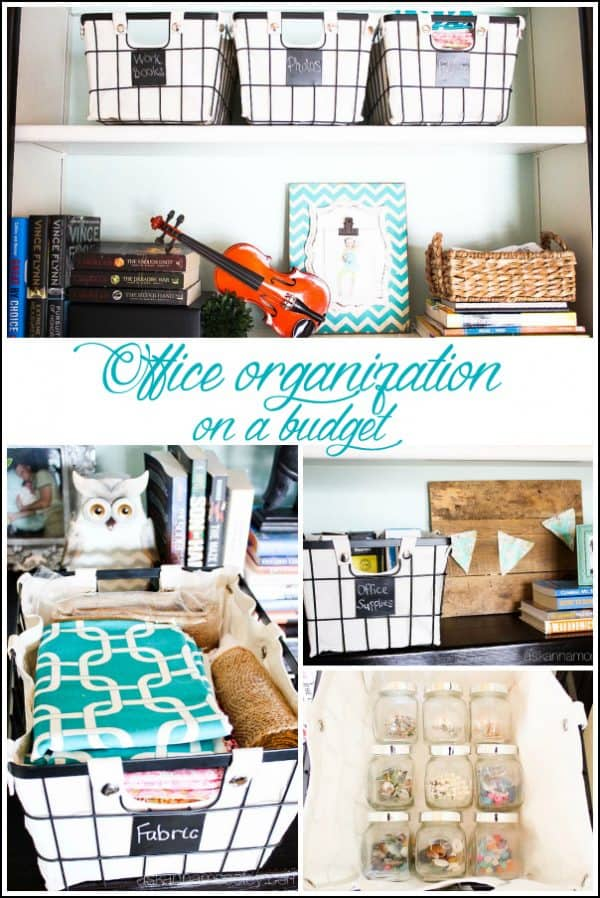 Office organization tips on a budget - Ask Anna