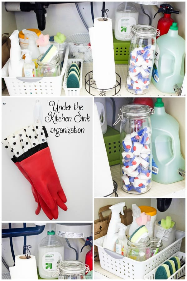 Organizing under the kitchen sink (for less than $15) - Ask Anna
