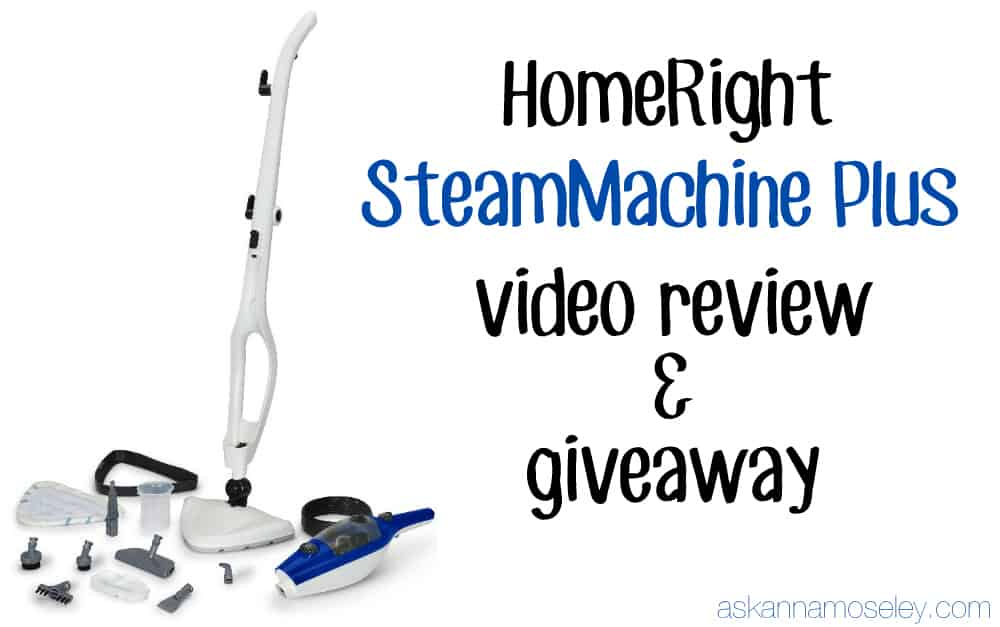 Why the HomeRight SteamMachine is my favorite (and a giveaway) - Ask Anna