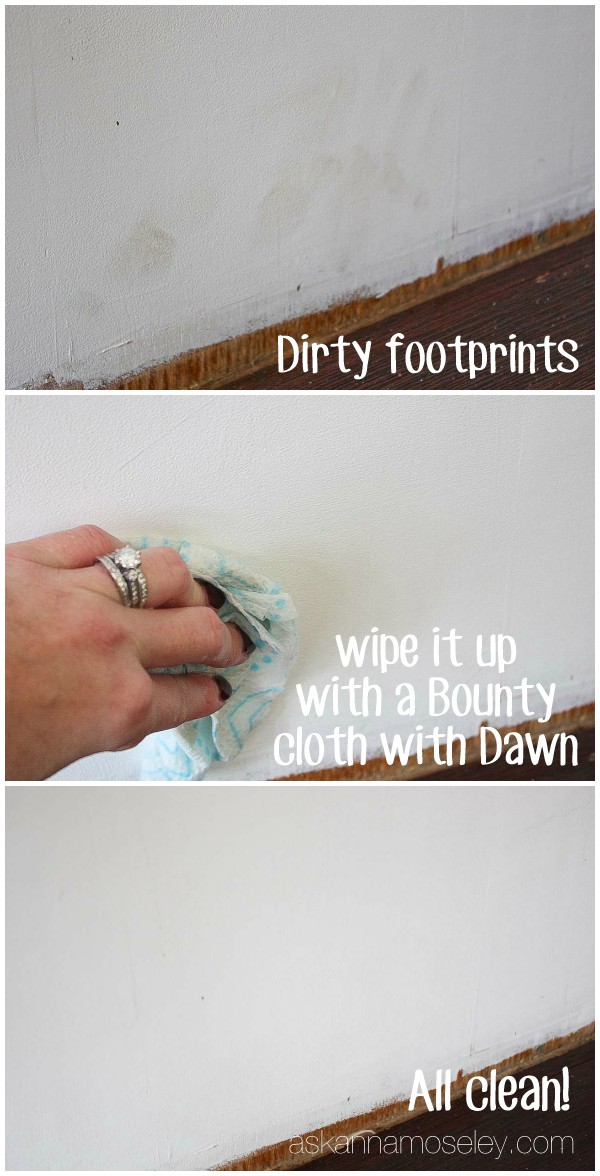Clean up crumbs quickly with Bounty and Dawn - Ask Anna
