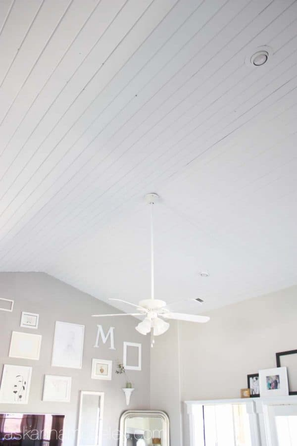 White paneled ceiling - Ask Anna