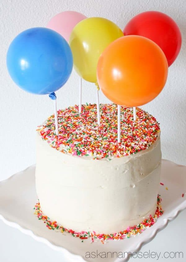 Balloon cake - Ask Anna