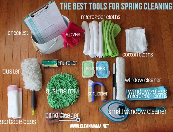 Best Tools for Spring Cleaning by Clean Mama