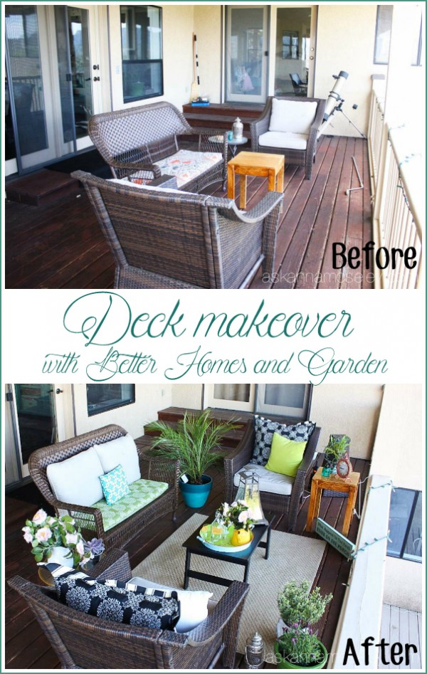 Deck makeover with Better Homes and Gardens - Ask Anna