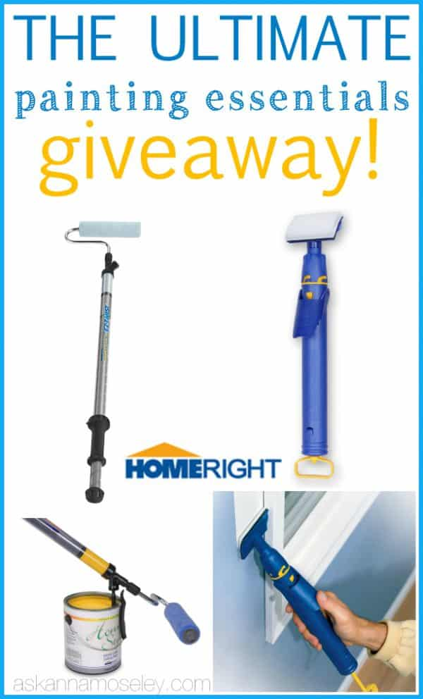 HomeRight painting essentials giveaway - Ask Anna