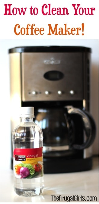 How to clean your coffee maker with The Frugal Girls