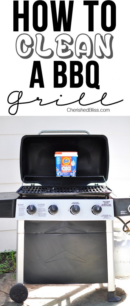 How to Clean a BBQ grill by Cherished Bliss