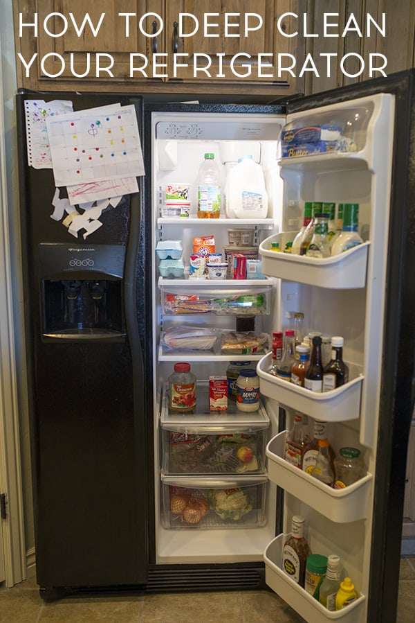 How to clean the refrigerator