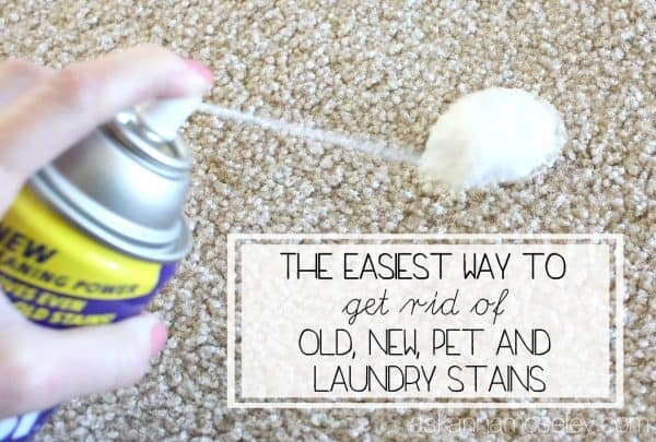 How to get rid of old and new stains - Ask Anna