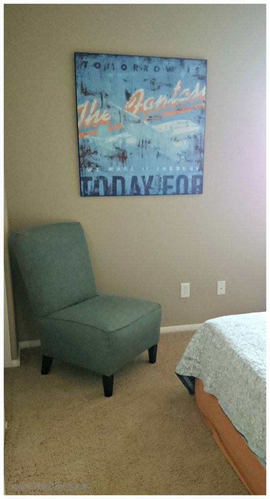 Simple Hospitality - a simple guest bedroom