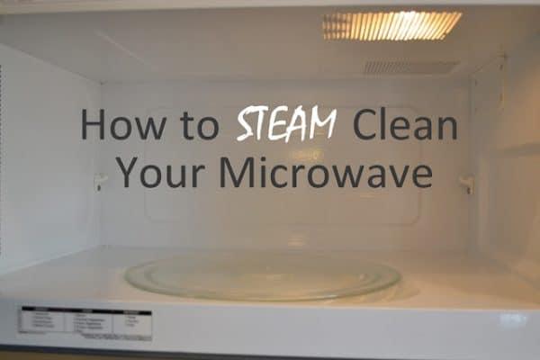Steam Clean Microwave