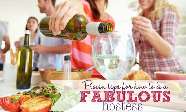 Proven tips for how to be a fabulous hostess and a free printable for what to always have in your pantry, fridge and freezer - Ask Anna