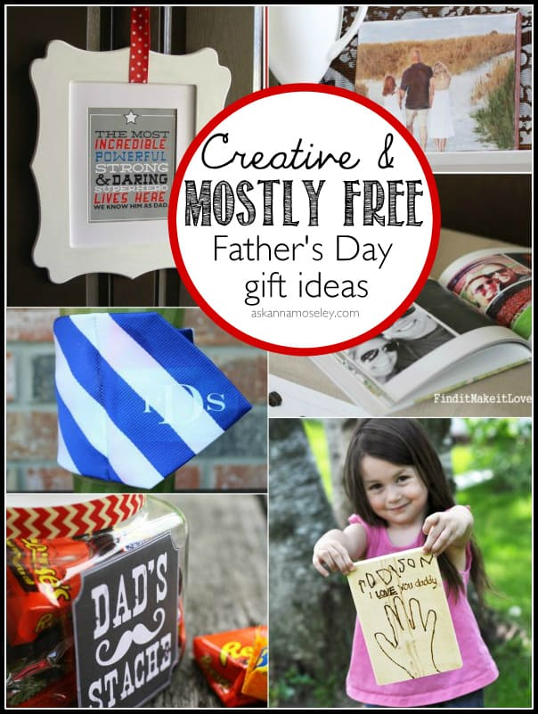 Creative and mostly free Father's Day gift ideas - Ask Anna