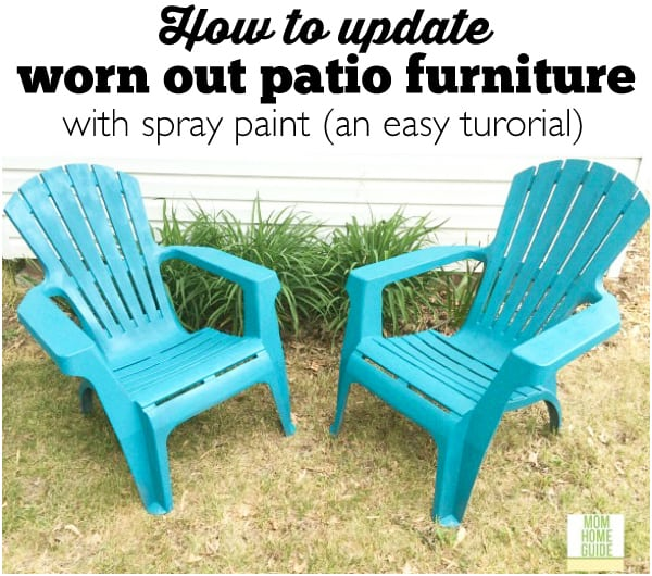 How to Update Old Patio Chairs (an Easy Tutorial)