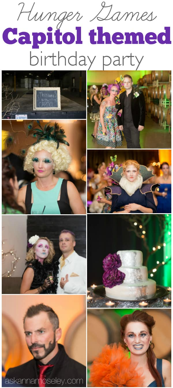 Hunger Games Captiol themed birthday party with lots of ideas for your own Panem themed party- Ask Anna