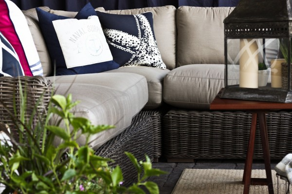 Outdoor living room - Ask Anna