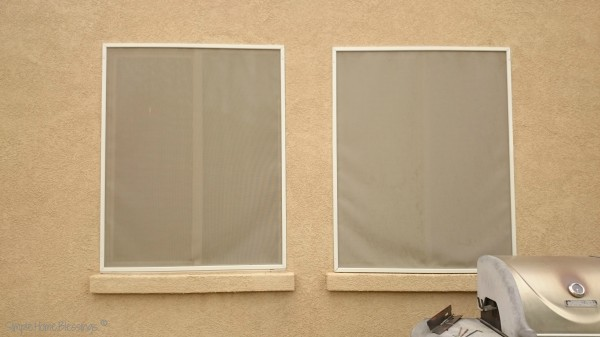 Saving Money on your electric bills - solar screens on windows