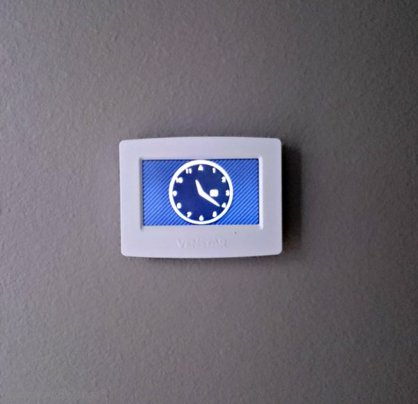 Saving money on your electric bill  - a programmable thermostat