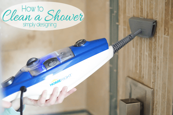 How to clean your entire shower with just steam