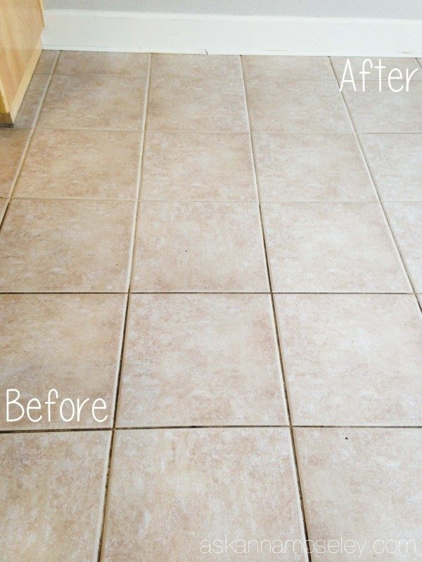 How to clean even the dirtiest grout and make it look brand new