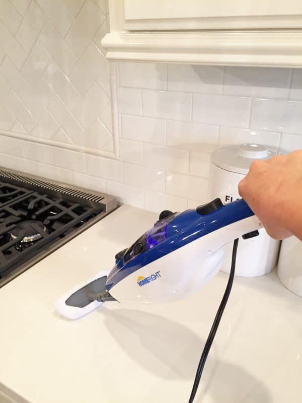 How to clean your countertops with steam, instead of harsh chemicals