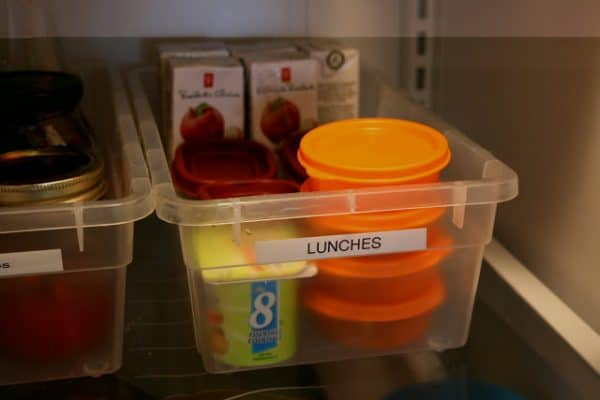 Tips for how to pack lunches ahead of time - Echos of Laughter