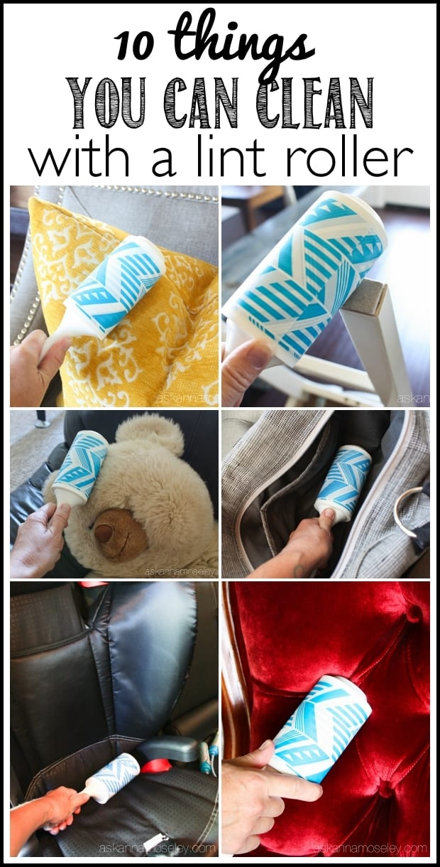 10 things you can clean with a lint roller - Ask Anna