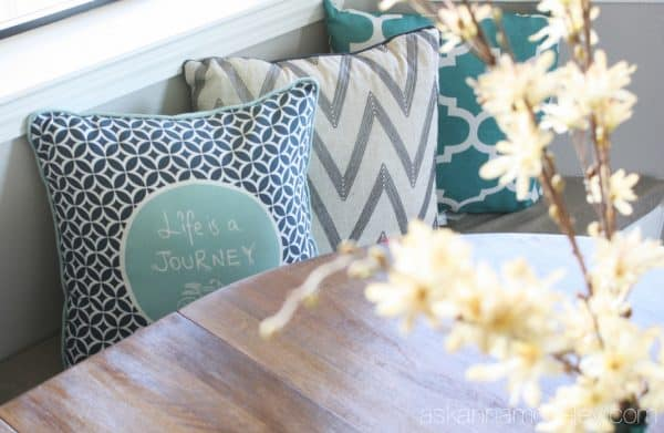 Breakfast nook makeover with BHG - Ask Anna