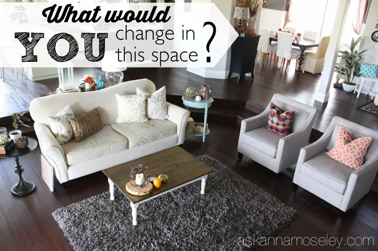 My living room needs a makeover, what would YOU change
