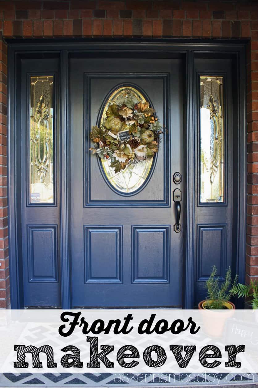 Blue front door - Ask Anna