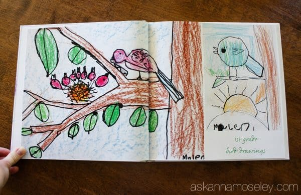 The best way to save, and feature, your child's artwork. Take years of school artwork, notes, etc. and turn it into a photo book for your coffee table. It will eliminate paper clutter and your kids will feel so proud and your friends and family will love looking at the pictures. | Ask Anna