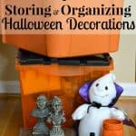 7 tips for storing and organizing Halloween decorations