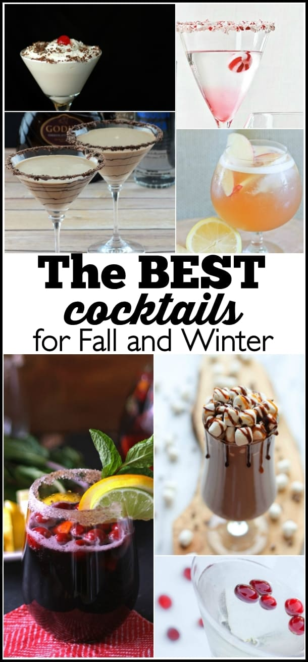 A round-up of the best Fall and Winter cocktails - Ask Anna