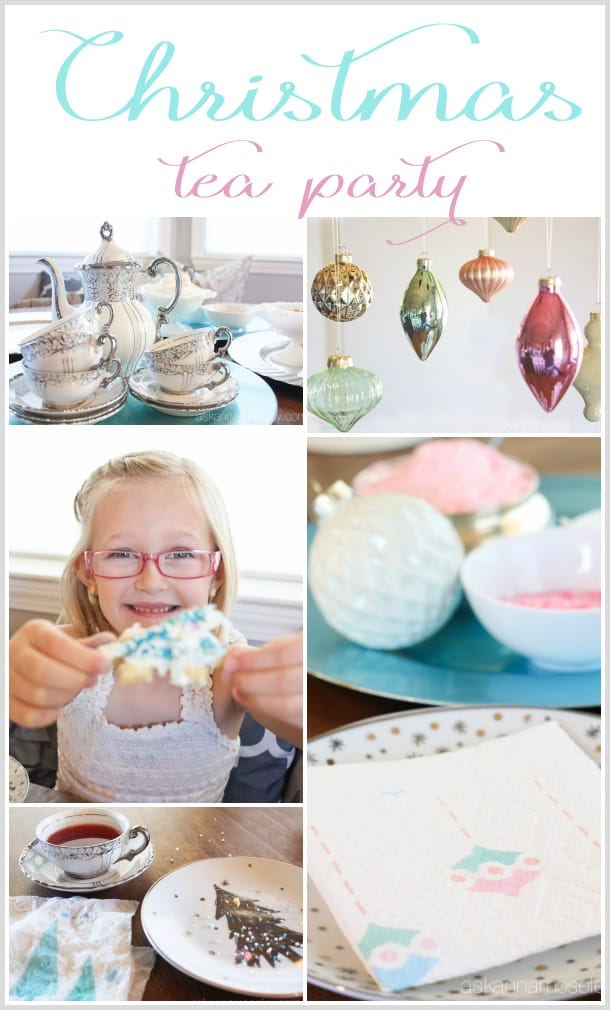 Christmas tea party with vintage flair   Ask Anna