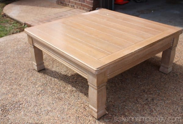 Coffee table - before