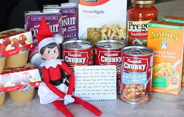 A fun spin on Elf on the Shelf - this year our elf is doing 24 days of kind acts toward others and encouraging our kids to join her | Ask Anna