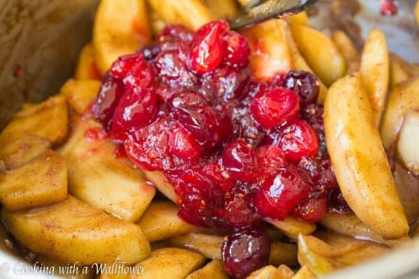 Apple Cranberry Pie 6