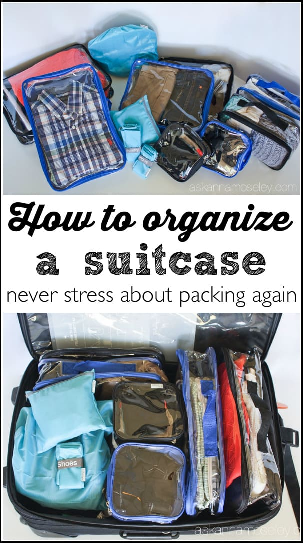 How to organize your suitcase and never stress about packing again   Ask Anna