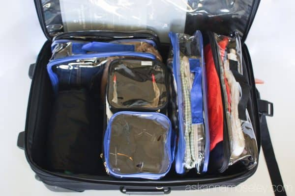 How to organize your suitcase for you and your family   Ask Anna