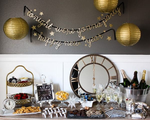 Tips for how to throw a stress-free, fabulous New Year's Eve party | Ask Anna