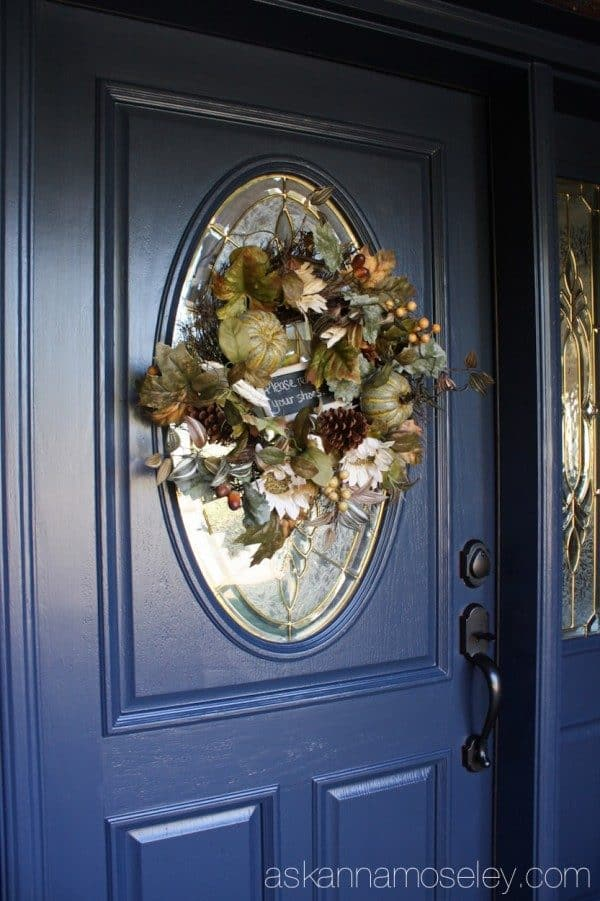 Front door makeover | Ask Anna