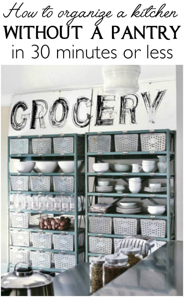 Lots of solutions for how to organize a kitchen without a pantry in 30 minutes   Ask Anna