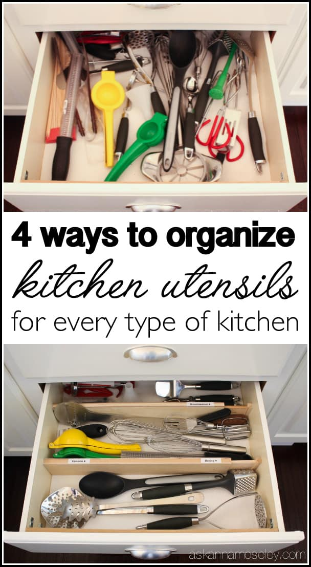 How to organize your utensils in 30 minutes or less | Ask Anna