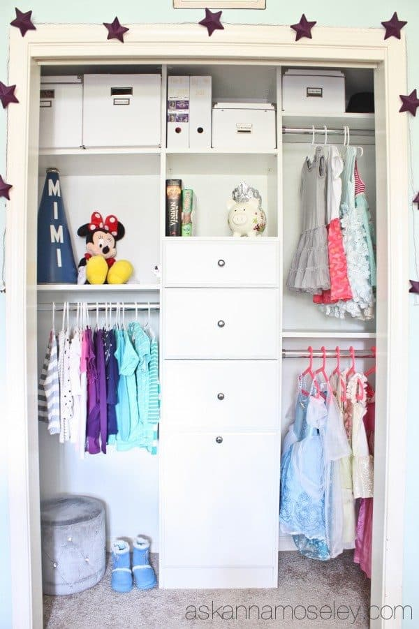 Organized kids closet | Ask Anna